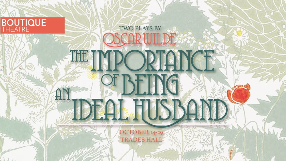 The Importance of Being Earnest | 2016