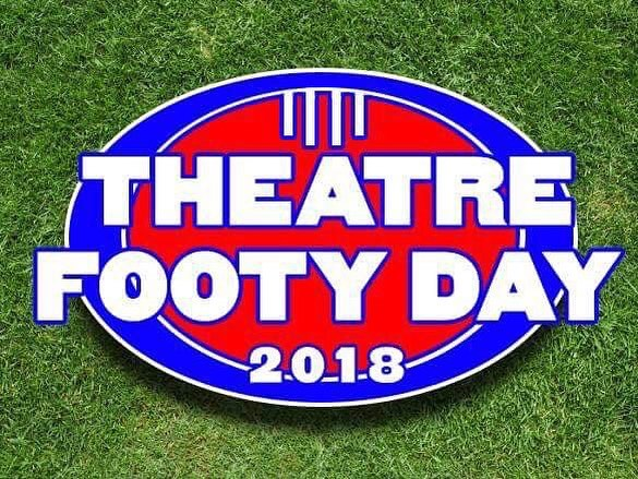 Gonna be a bloody laugh. And competition. And football. 12pm. Peanut Farm Reserve, St Kilda. Music Theatre People. • #lions #sharks #afl #mt #beyondblue