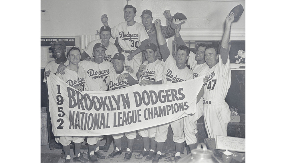 Dodgers win the National League Pennant