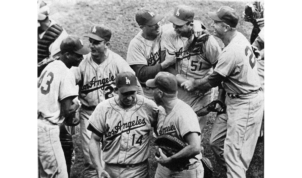 Dodgers win the World Series  Bavasi wasted little time in bringing winning baseball to the West Coast, capturing a World Series championship for Los Angeles in the club's second season there.