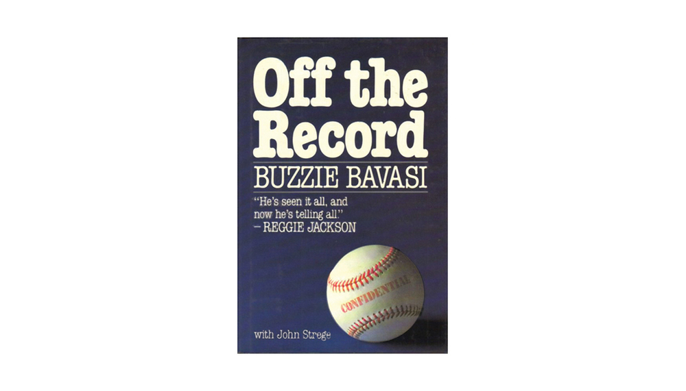 """In 1987 Bavasi chronicled his career in """"Off the Record."""""""