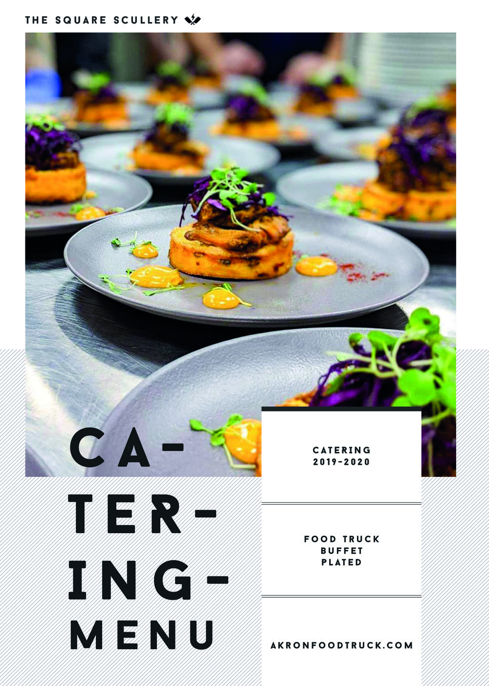 All brand new Catering Packet - Contact us for more info!