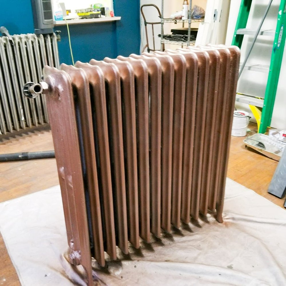 Even our Radiators Got a Makeover!