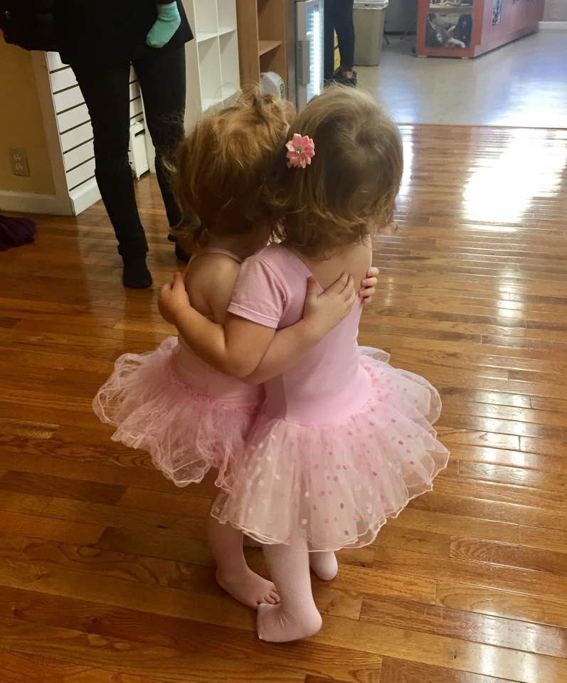 Love and Tutus, what a Ballroom hug can do!