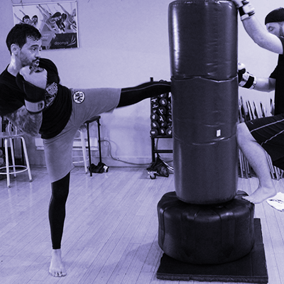 Kickboxing: Kickboxing provides technical instruction on the fundamentals of striking for a high energy workout. The class is challenging for all fitness levels and lays the foundation for advanced SPARology courses. Prerequisites: None