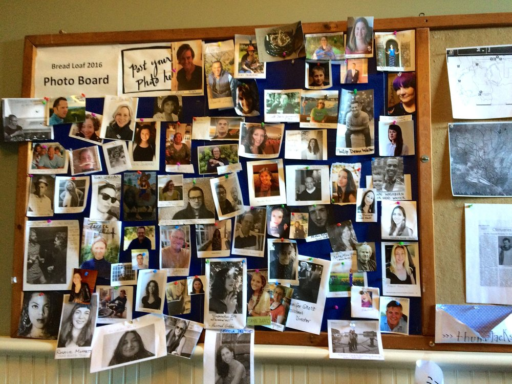 one bulletin board cannot contain my many new bffs.