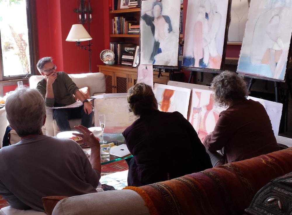 ELEVATE: Artist Mentorship session in progress ©2016 David Limrite