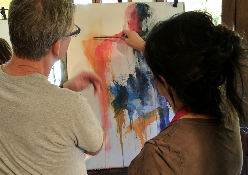 Copyright 2018 David Limrite Artist Teacher Coach Mentor Figure Drawing Figure Painting Workshop - Santa Monica, CA