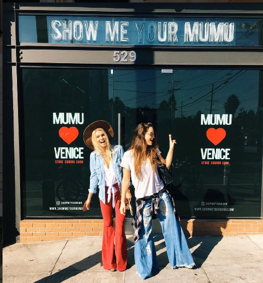 <p><strong>SHOW ME YOUR MUMU</strong>529 California Ave<br>424.291.8662</p><p>Not simply a garment, Mumu is a lifestyle. Spontaneous. Unique. Versatile. Well-traveled.</p>