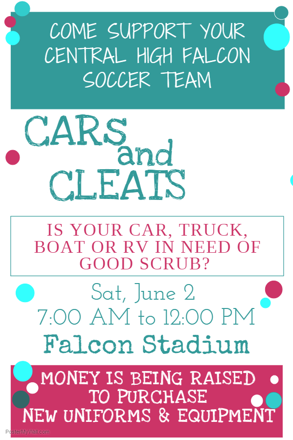 Cars and Cleats Poster