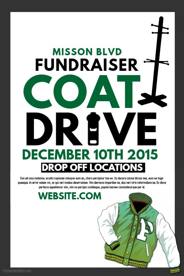 Coat Drive Poster