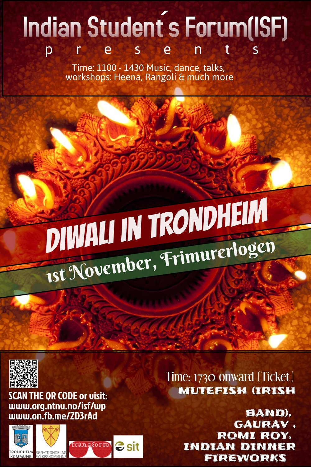 Students Diwali Poster