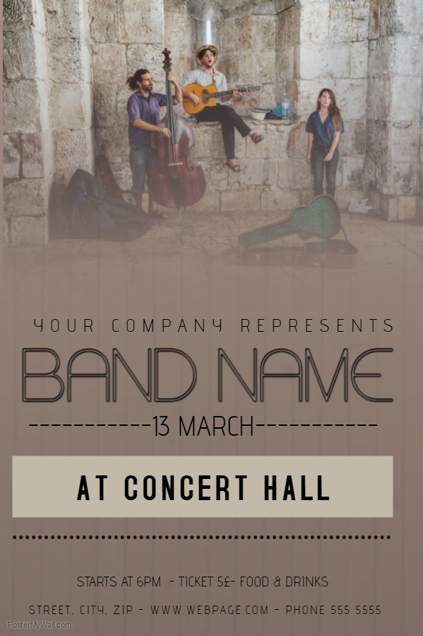 Band Concert Poster