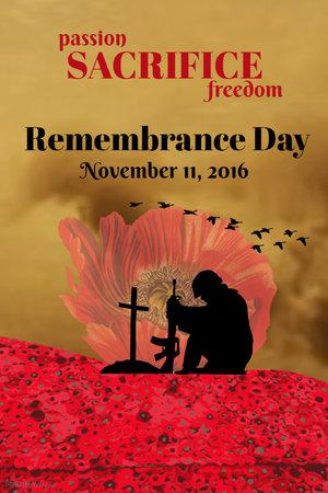 create remembrance day posters design studio