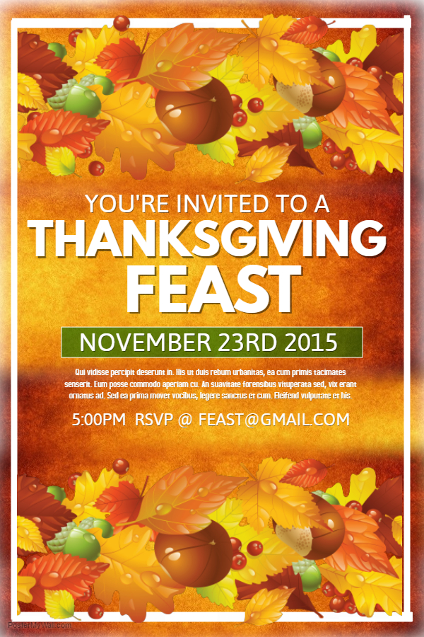 Thanksgiving Flyer 3