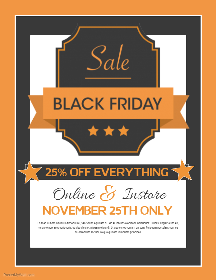 Black Friday Flyer 2