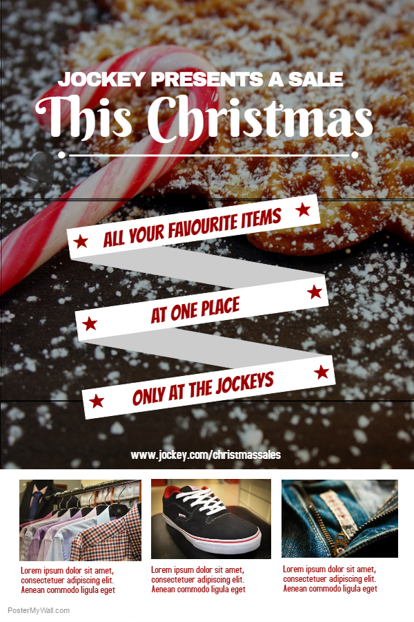 Christmas Retail Flyer Template