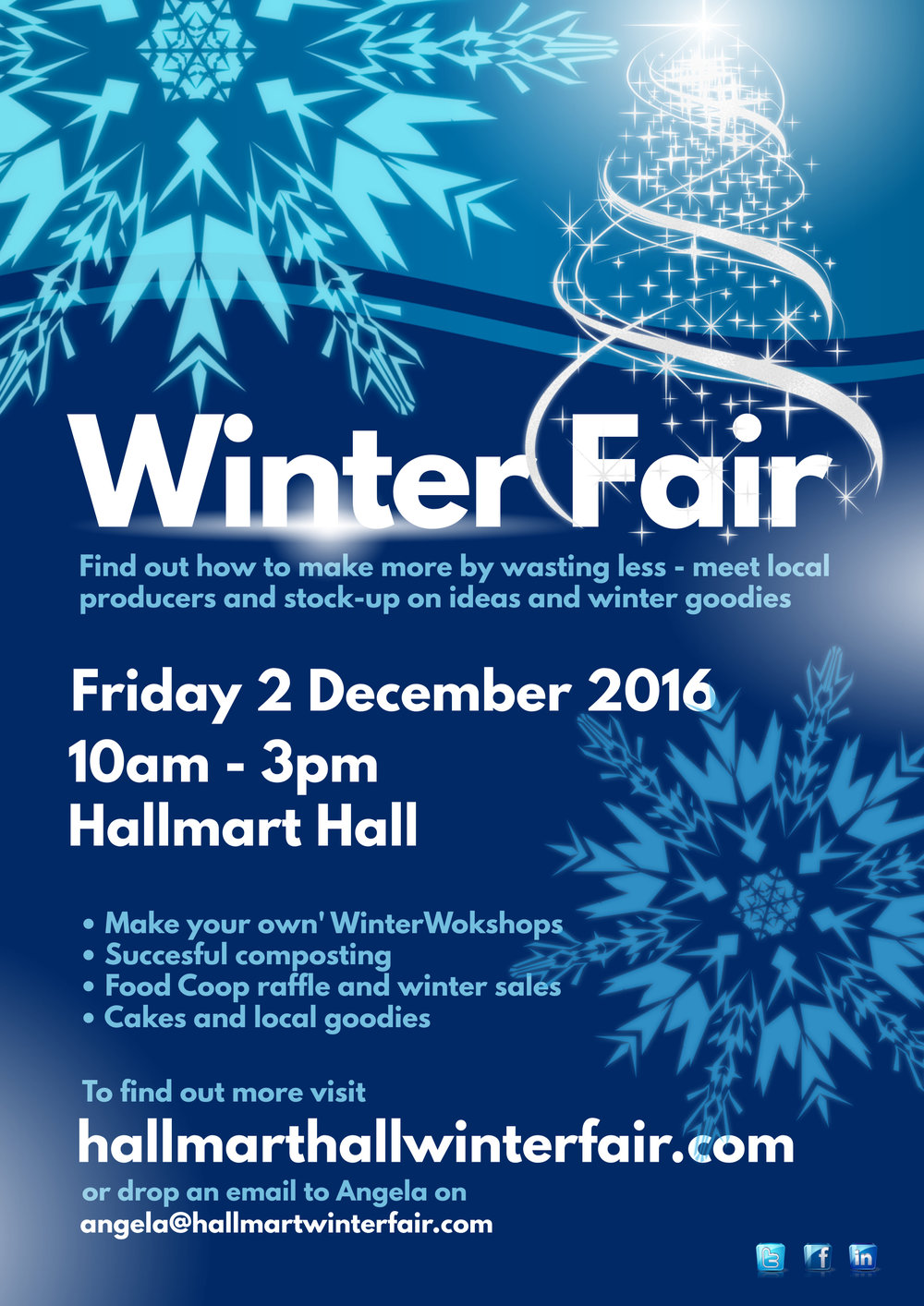 Winter Fair Poster Template