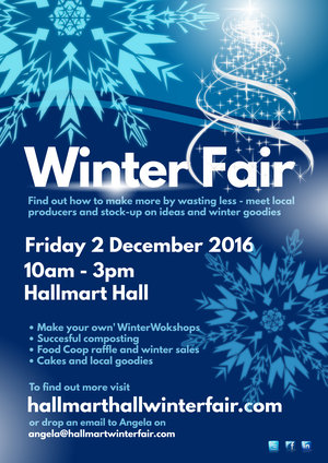 Make christmas sales stand out with posters design studio winter fair poster template pronofoot35fo Image collections
