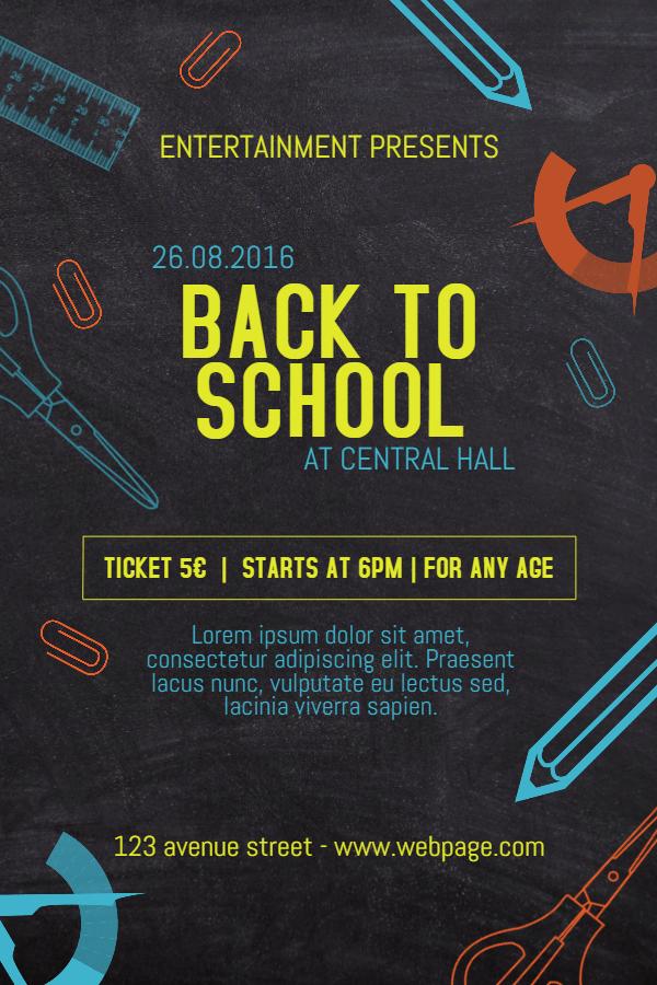 School Event Poster