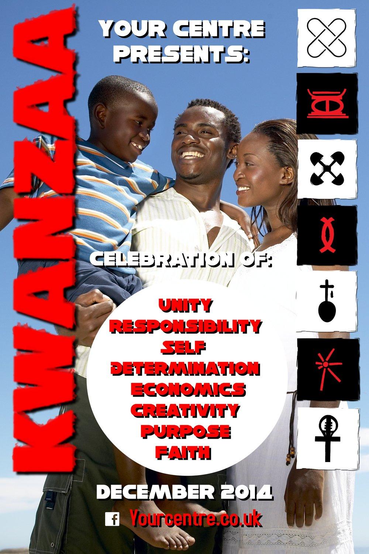 Kwanzaa Celebration Poster Template