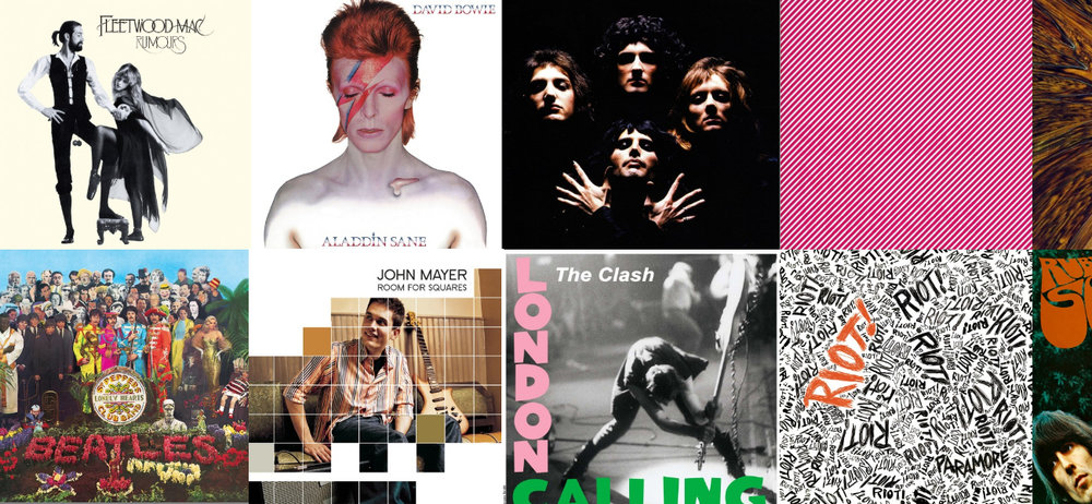 The 25 Most Iconic Album Covers Of All Time Design Studio