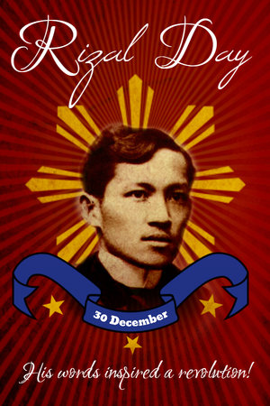 Create your next rizal day poster with postermywall design studio click on any of the templates below to start customizing rizal day stopboris Choice Image
