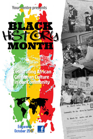 black history flyer template