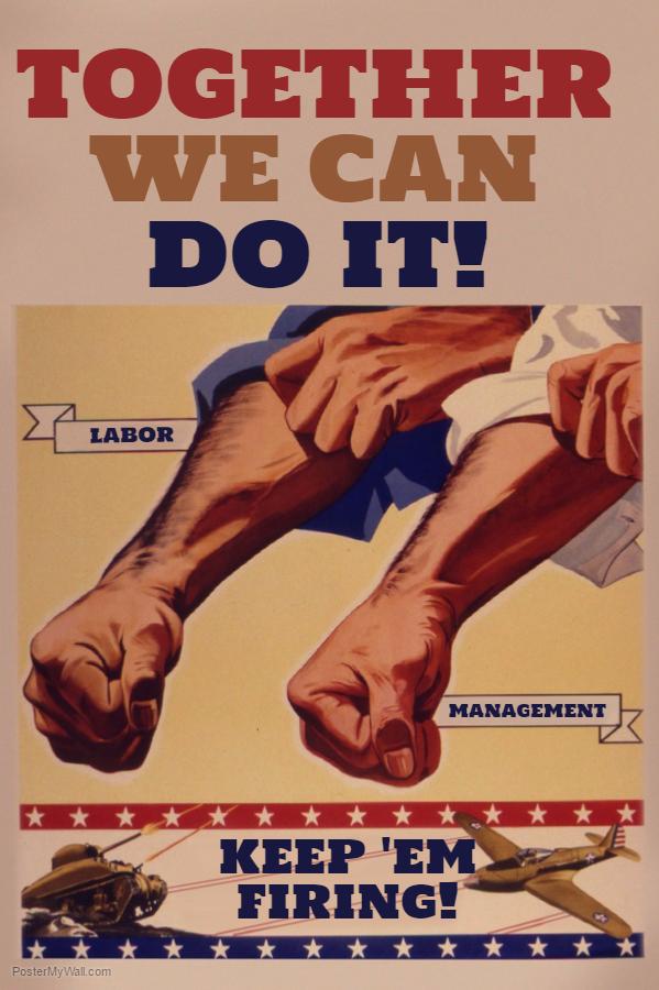 Vintage Propaganda Flyer