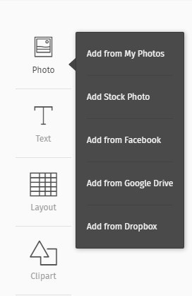 Seamlessly Add Photos From Dropbox To Postermywall Design Studio