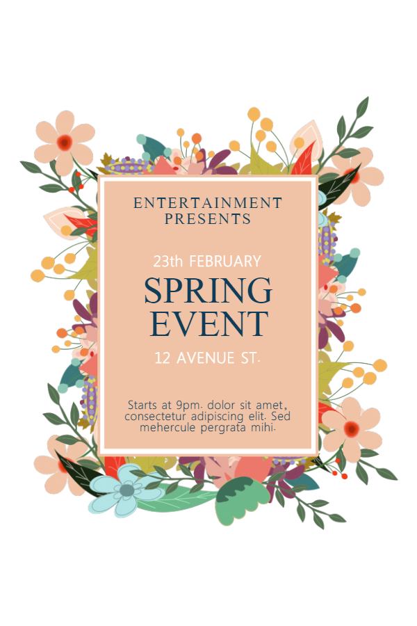 New Flyer Templates For Spring  Garage Sales  Design Studio