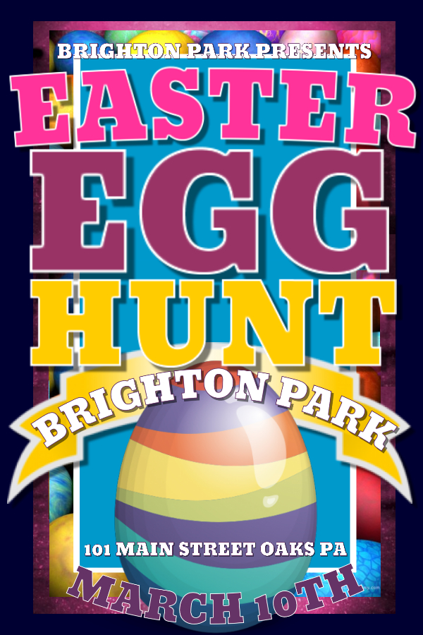Easter Egg Flyer Template