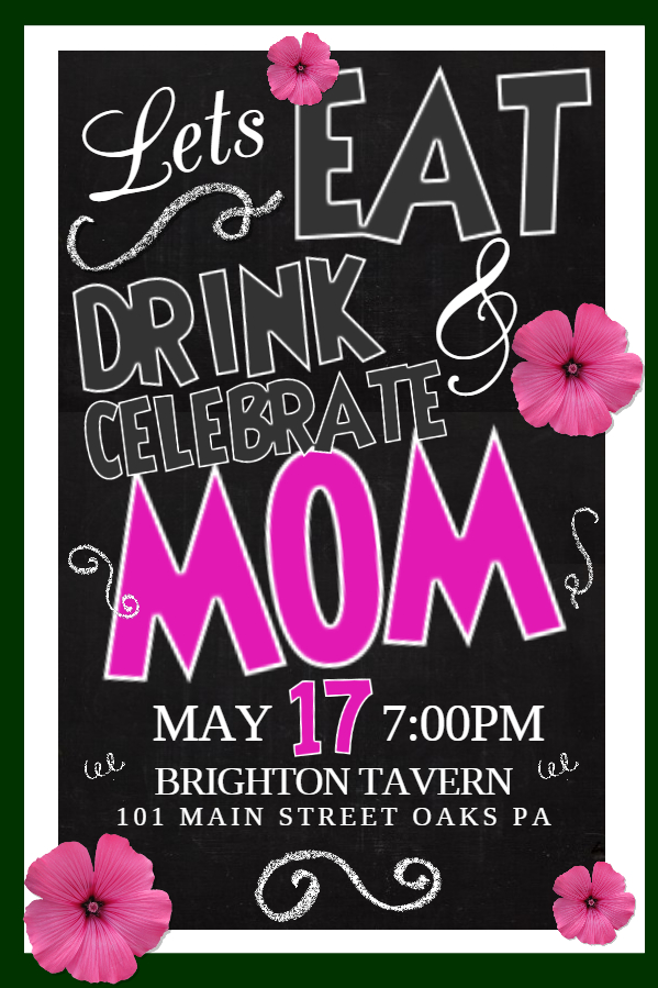 Mother's Day bar celebration