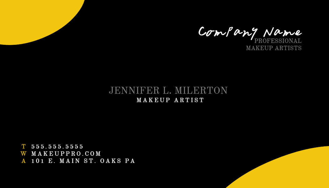 25 Professional Business Cards to Nail That First Impression ...