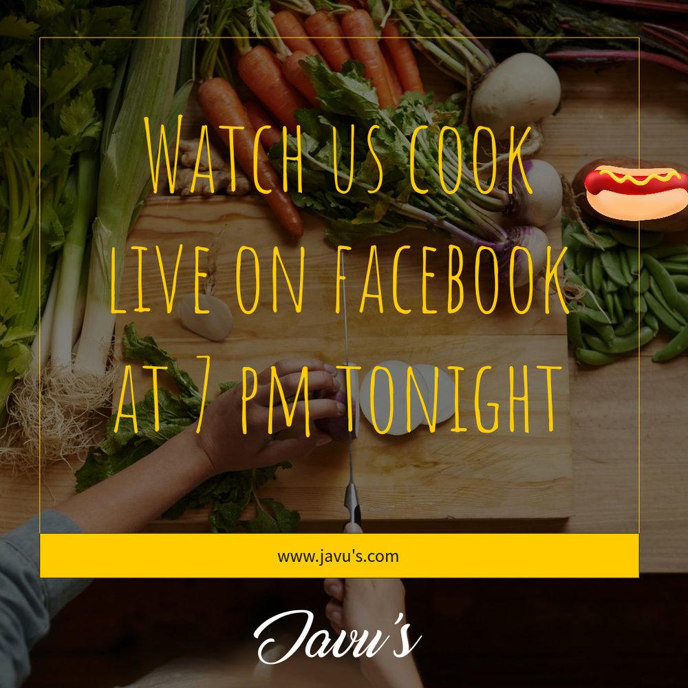 Facebook Live Square Image