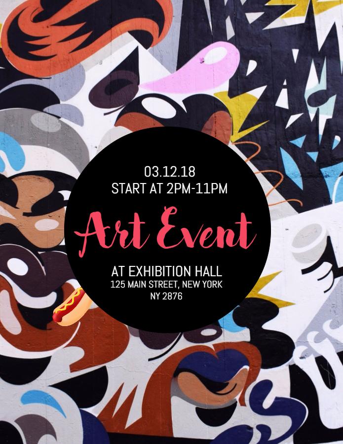 Art Event Poster