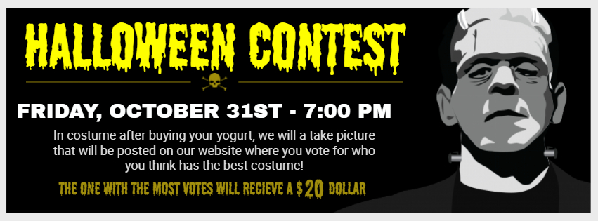 Halloween contest fb cover