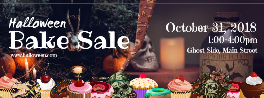 Halloween Bake Sale Design Template