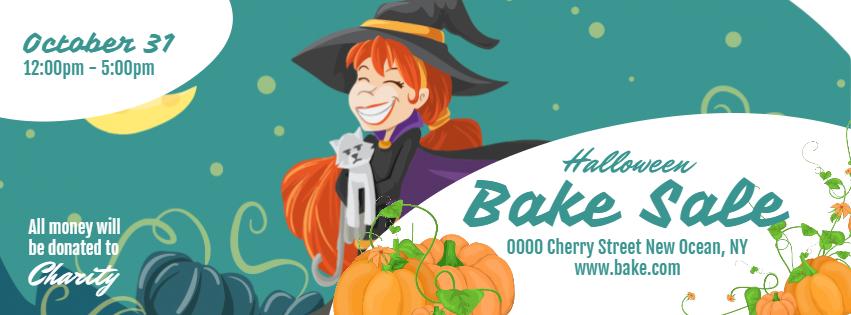 Halloween Bake Sale Facebook Cover