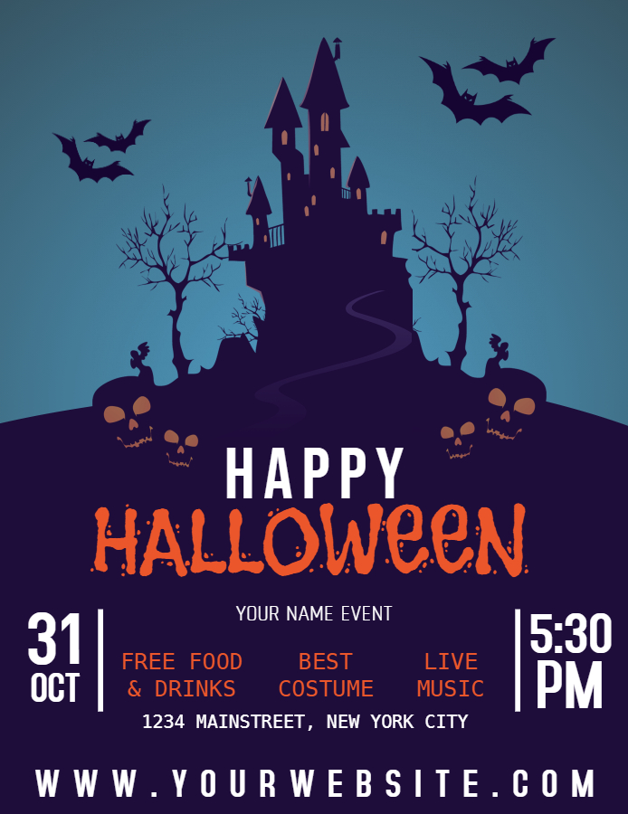 Ideas For Your Halloween Party Halloween Posters Design Studio