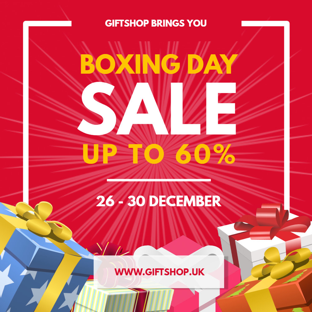 Boxing Day Sale Advert
