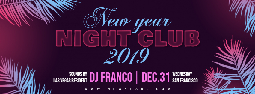 new years club facebook cover