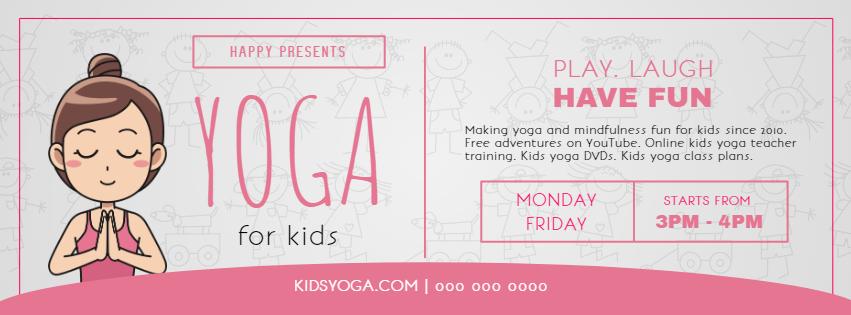 Yoga Center Facebook cover