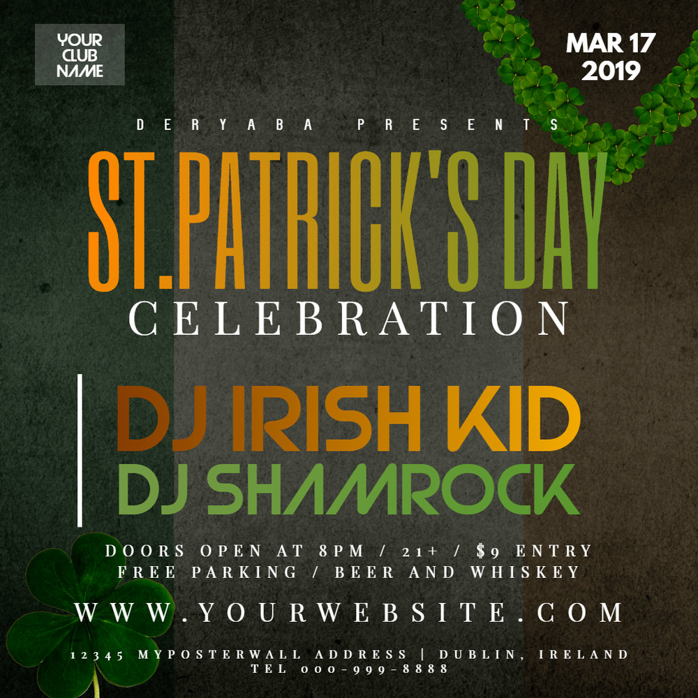 Copy of Saint Patricks Day Celebration Instagram Party Banner - Made with PosterMyWall.jpg