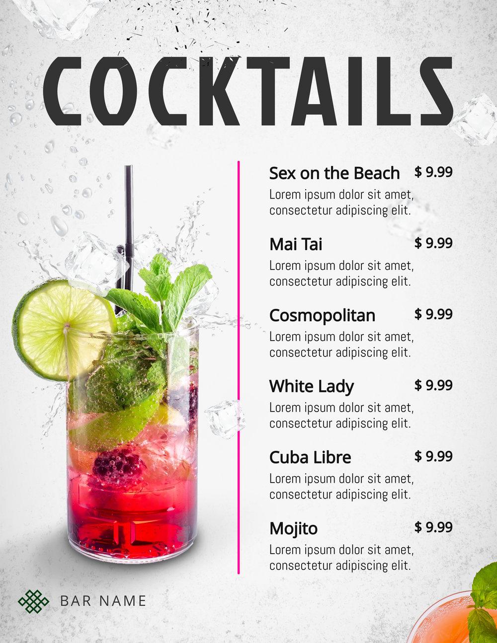 Copy of Refreshing Cocktails Menu Template.jpg