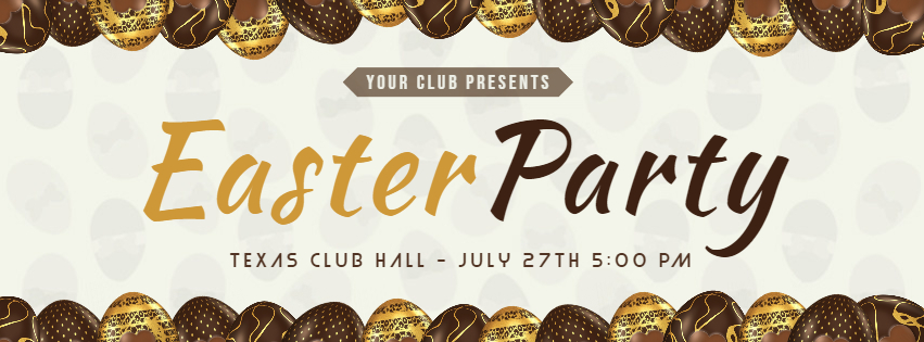 Chocolate Easter Party Invitation Banner - Made with PosterMyWall.jpg