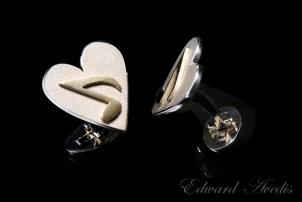 MusiCares cufflinks for Sir Paul McCartney