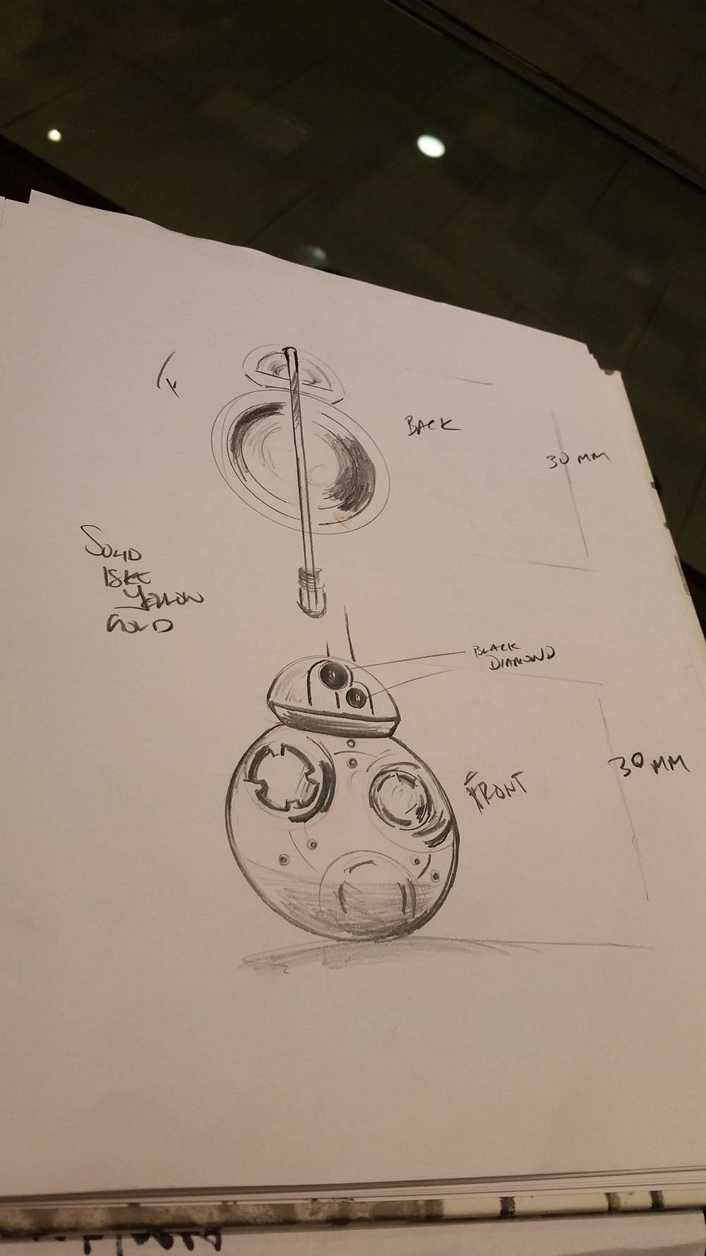 First Draft Sketches