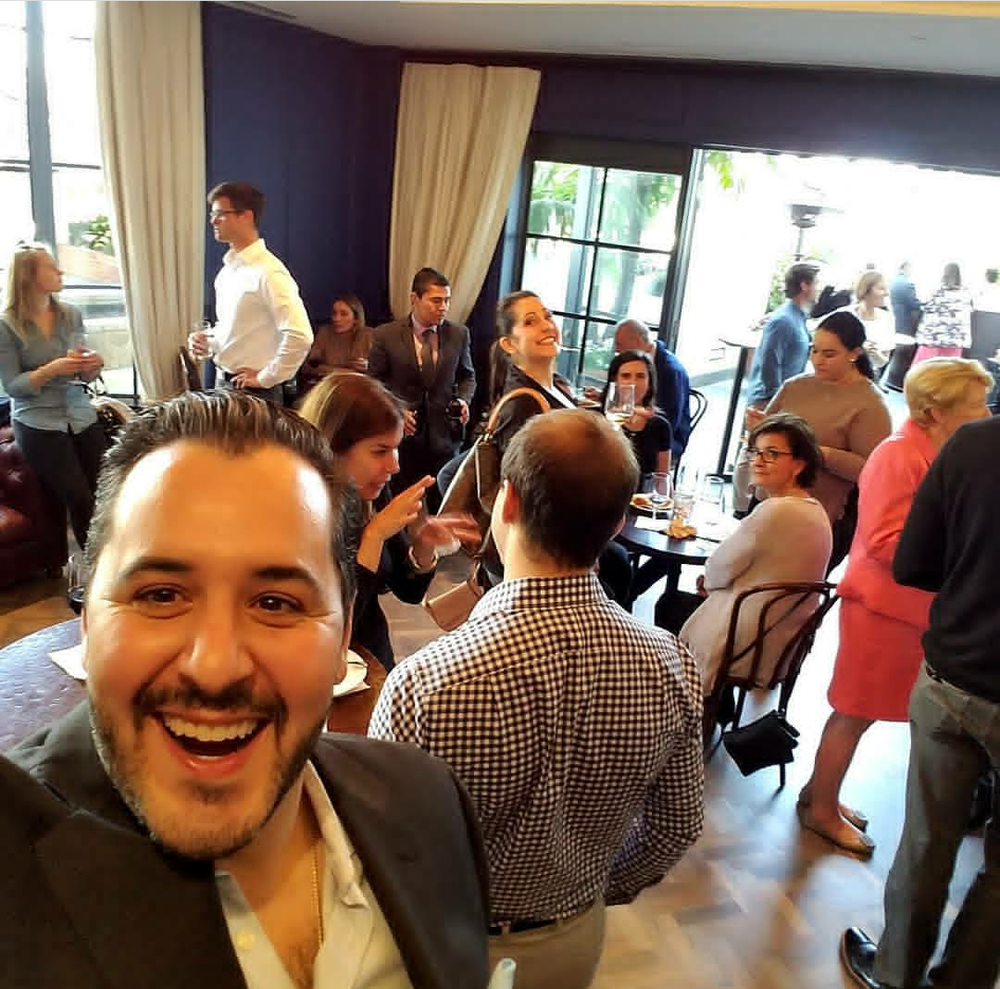 Selfie time !! What a great turnout to support the Santa Monica Boys and Girls Clubs!