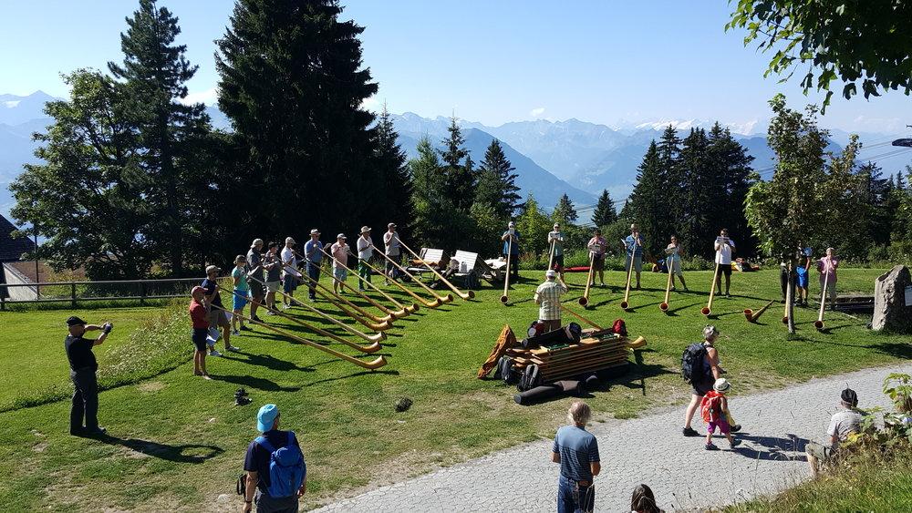 Alpenhörner